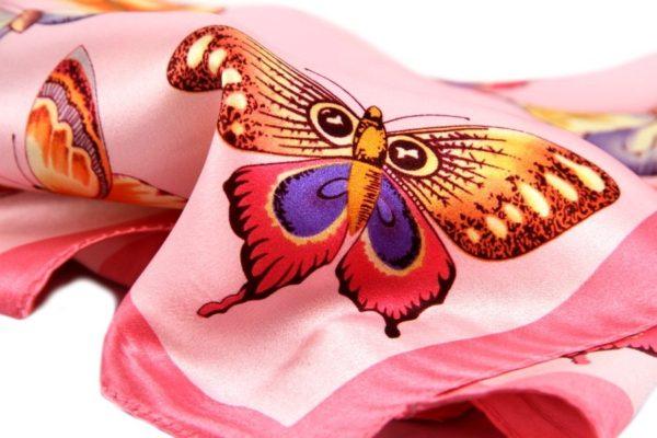princesse-foulard-carre-butterflies