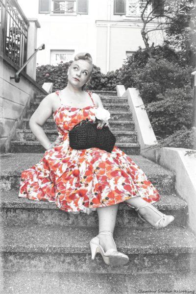 top-vintage-robe-fleurie
