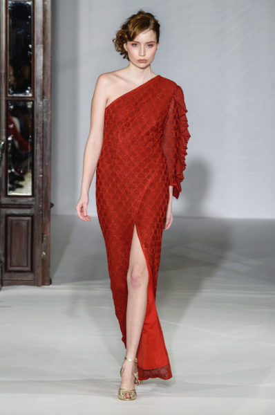 pfw-maria-aristidou-red-dress